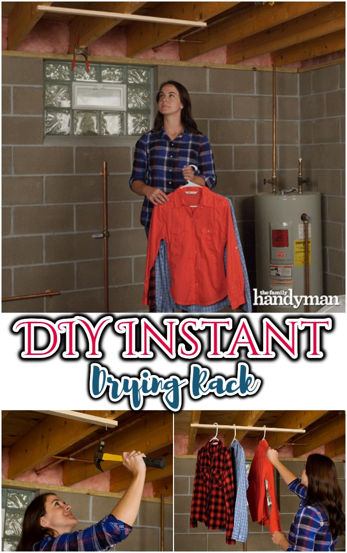 DIY Instant Drying Rack