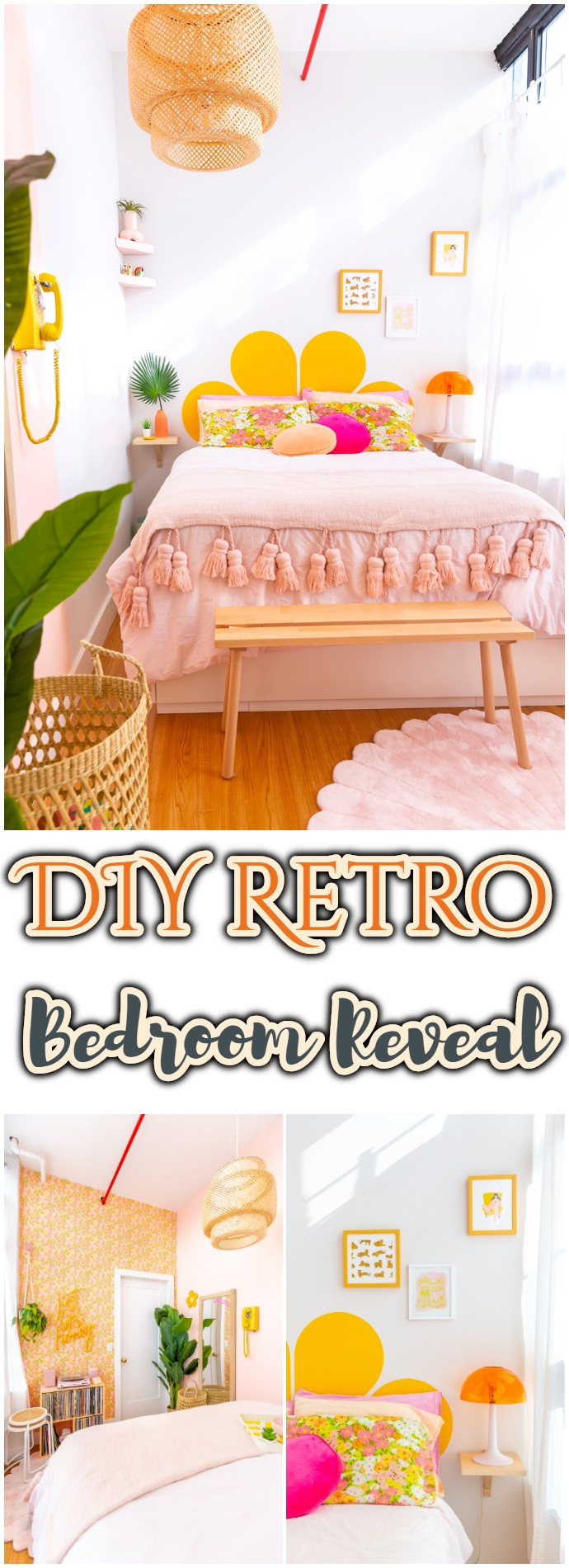 DIY Retro Bedroom Reveal