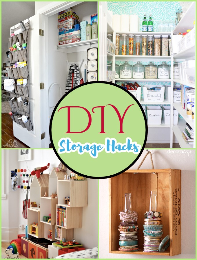 DIY Storage Hacks