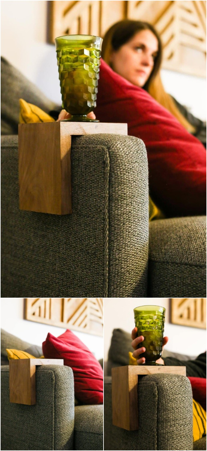 Diy Sofa Arm Table