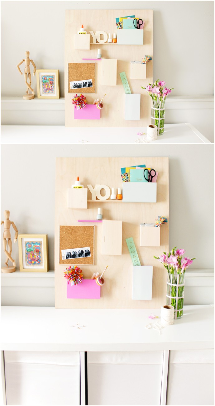 Diy Update Anthropologie Wall Organizer Hack