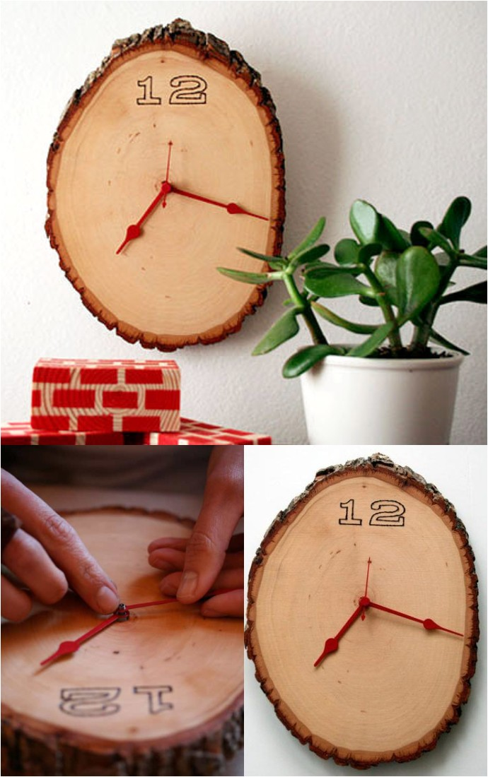 Diy Wednesdays Wood Clock Project