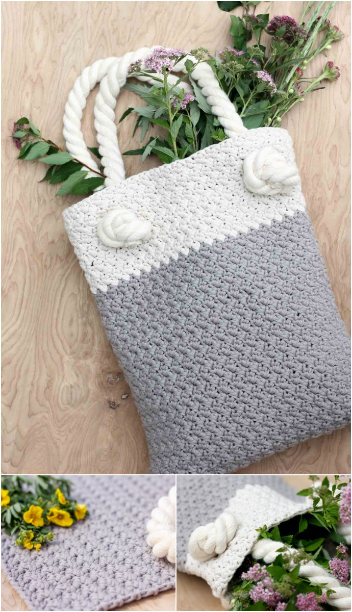 Free Crochet Bag Pattern For Beginners