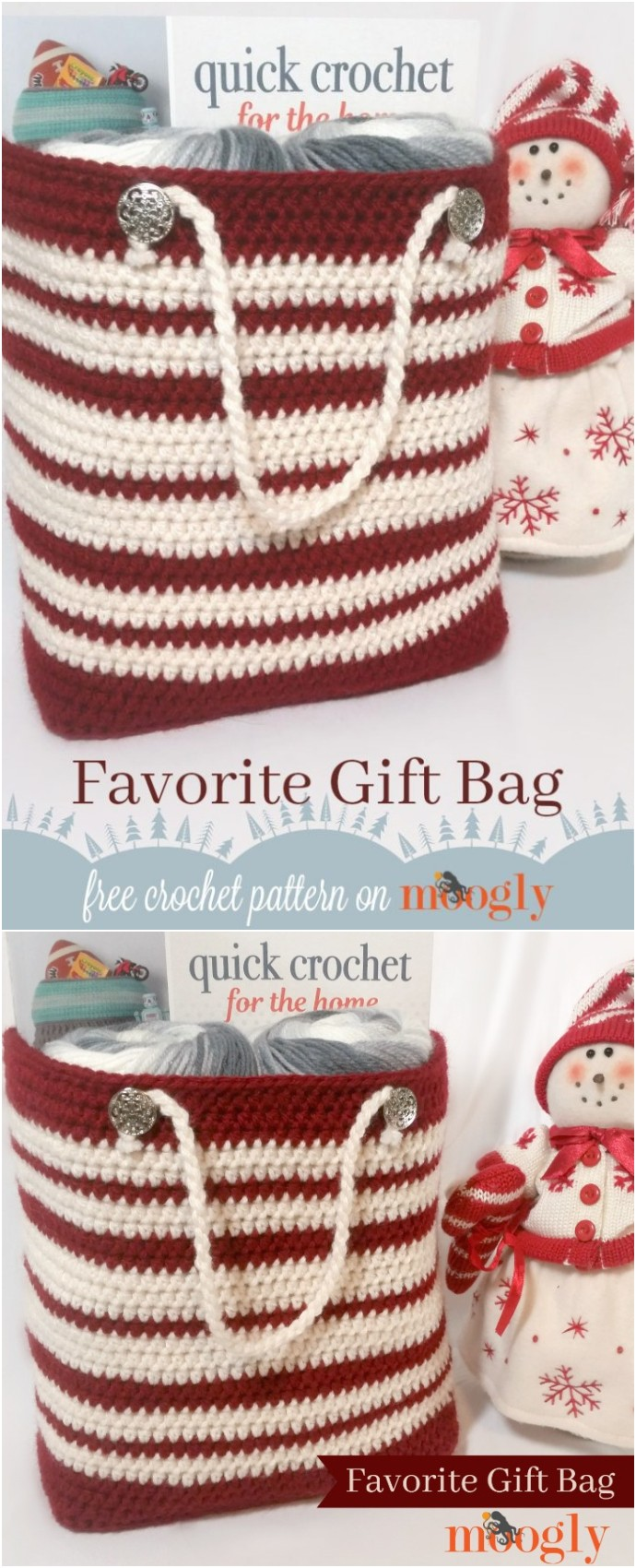 Free Crochet Favorite Gift Bag