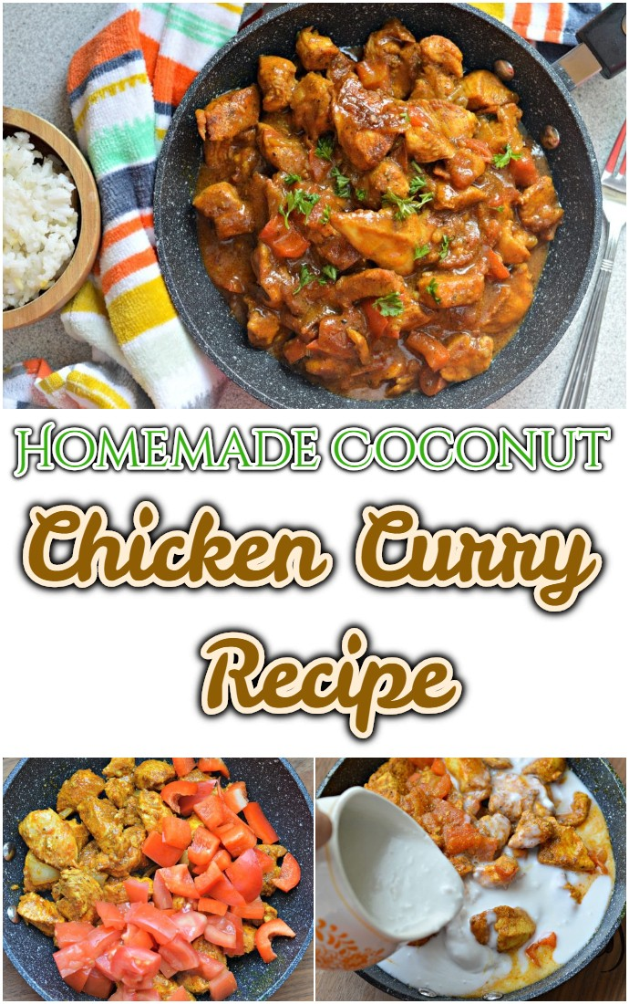 Homemade Coconut Chicken Curry Recipe