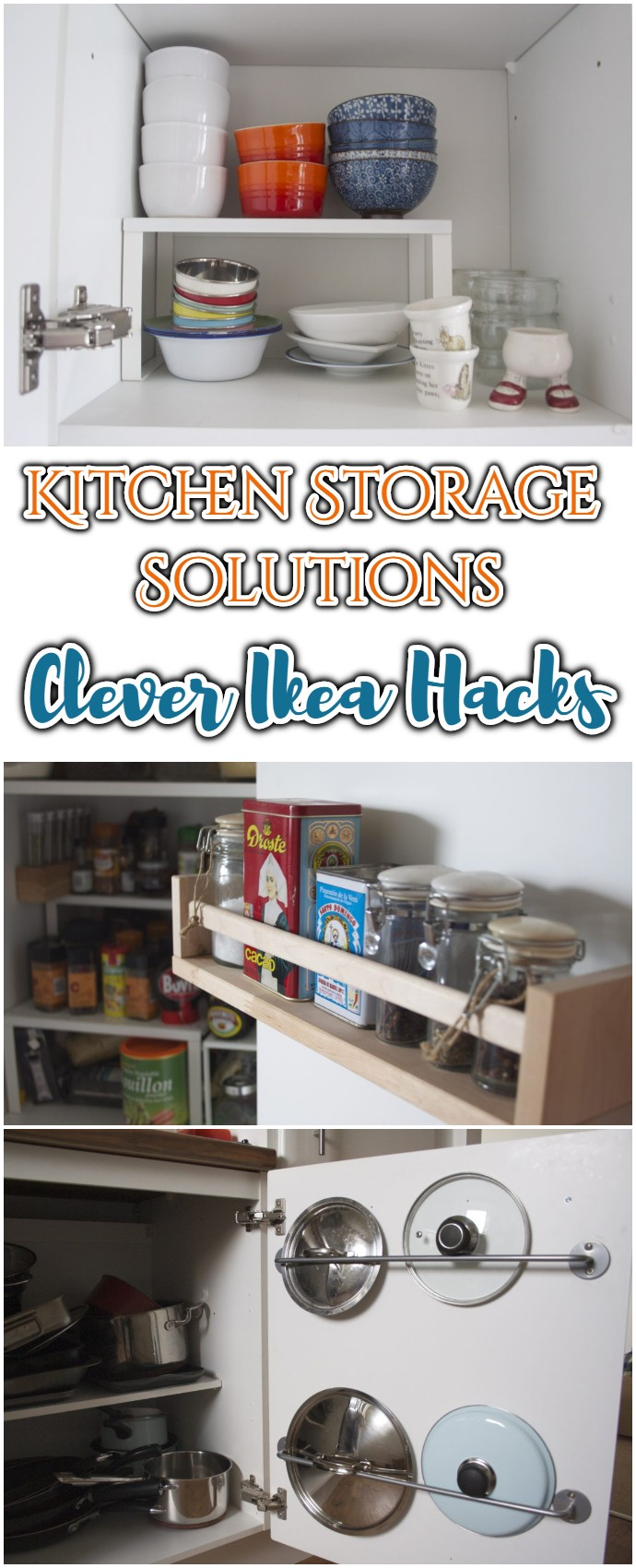Kitchen Storage Solutions Clever Ikea Hacks