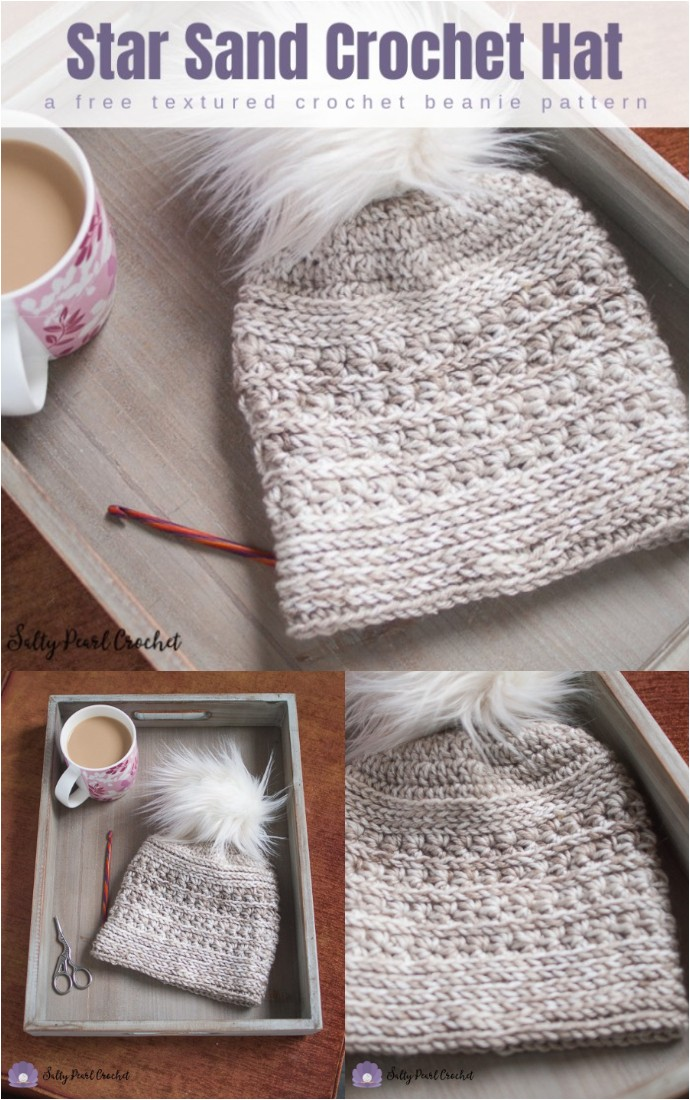 Star Sand Free Crochet Hat Pattern
