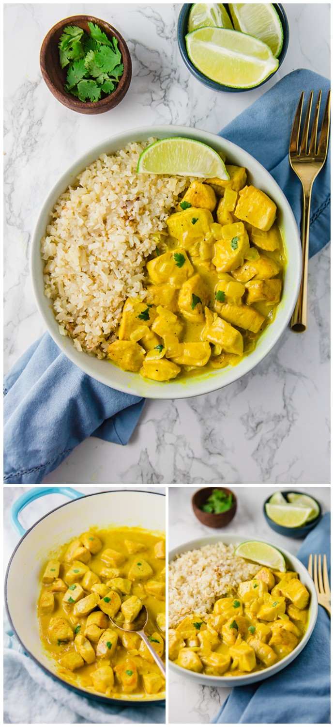 Turmeric Chicken Curry Healthy Dinner