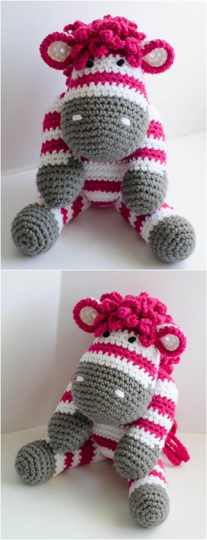 Amigurumi Crochet Zebra Pattern