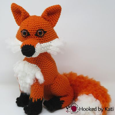 Clark The Crochet Fox Pattern