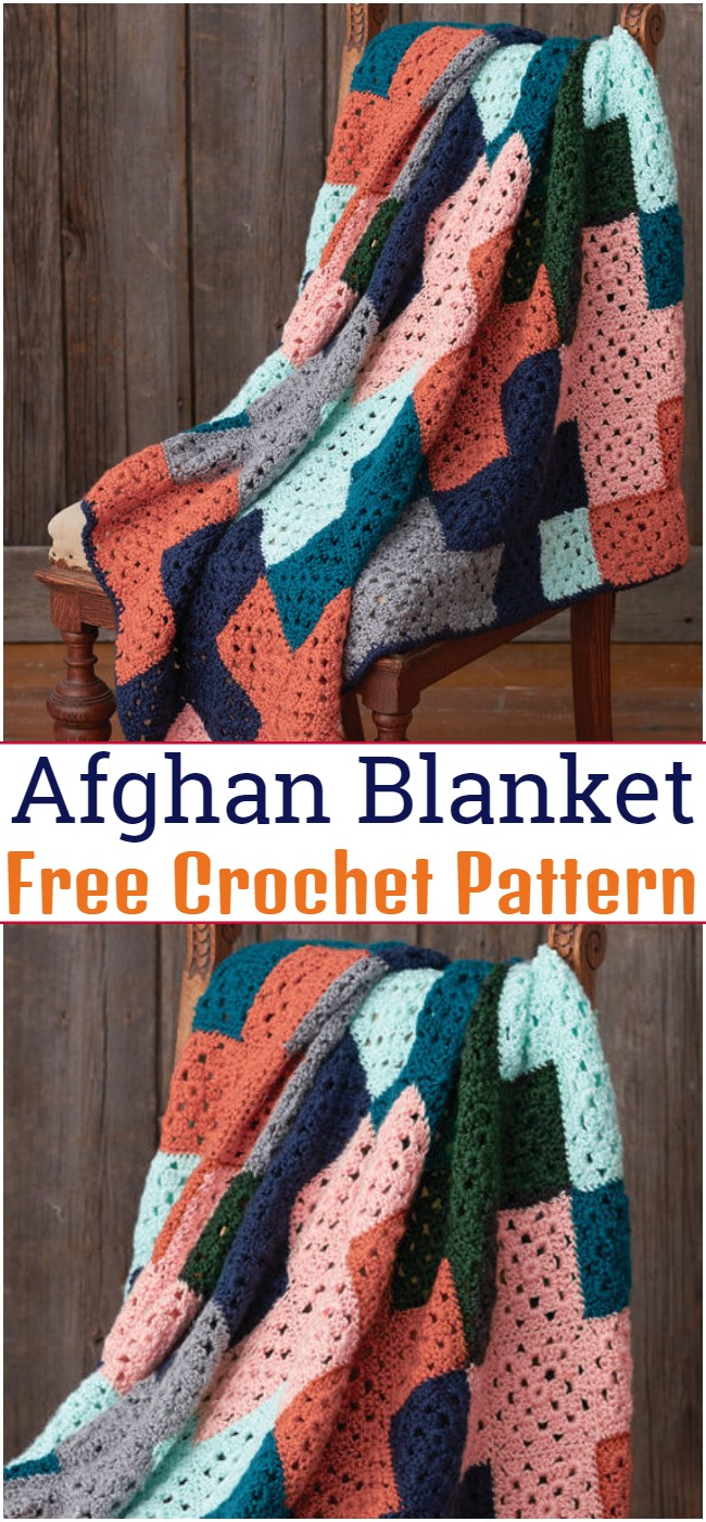Crochet Afghan Blanket Pattern