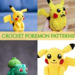 These crochet Pokémon patterns will hone your all skill levels of knitting and crocheting. The plus thing about these patterns is that they are really trendy because Pokémon has become the craze sweeping the world.#crochetpokemonpatterns #freecrochetpokemonpatterns #freecrochetpokemon #freeamigurumipatterns #freeamigurumipatternseasy