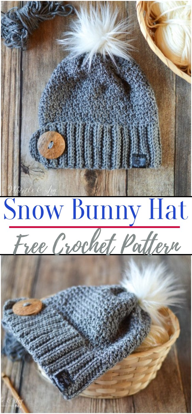 Crochet-Snow-Bunny-Hat-Pattern