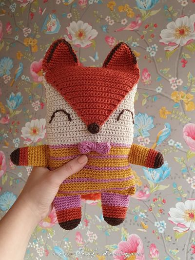 Crochet The Friendly Fox Free Pattern