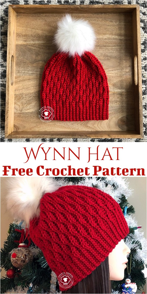 Crochet Wynn Hat Pattern