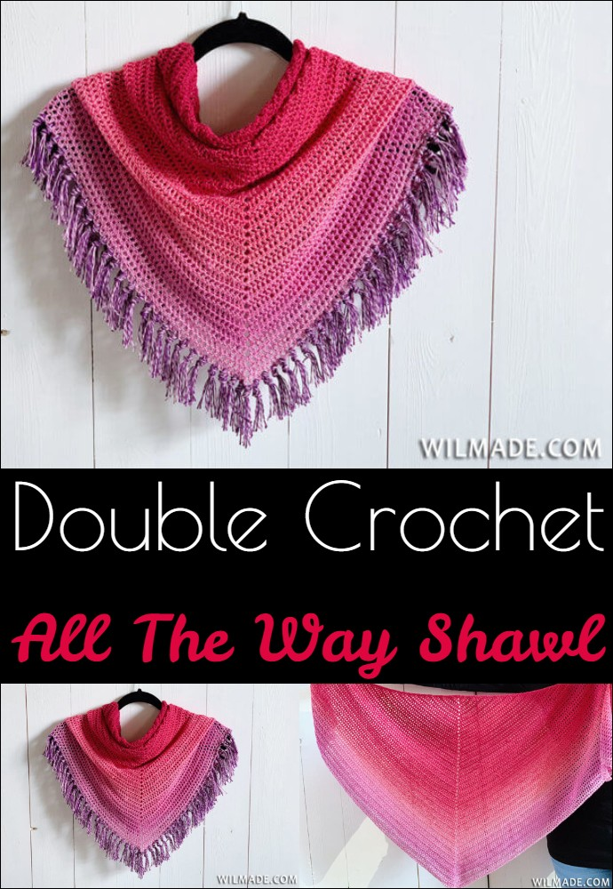 Double Crochet All The Way Shawl