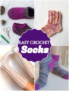 Easy Crochet Socks
