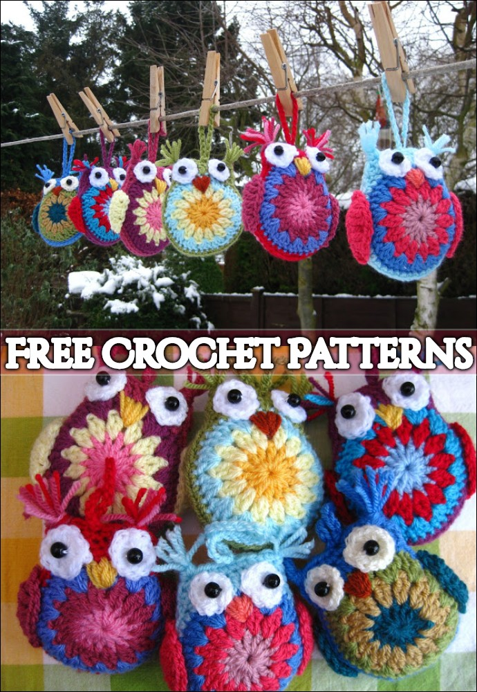 Easy Free Crochet Owl
