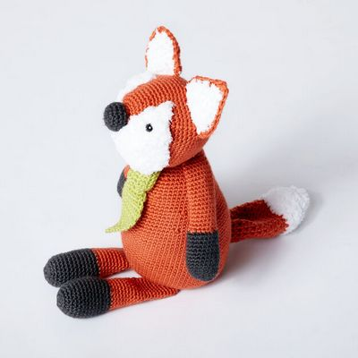 Francis The Fox Doll Crochet Pattern