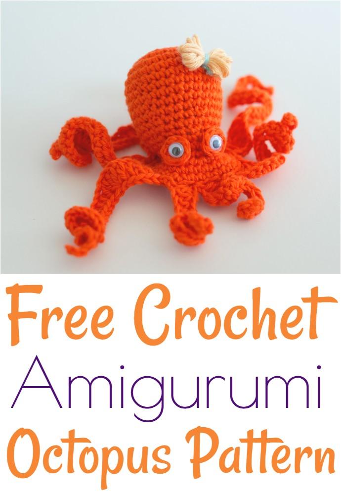Free Crochet Amigurumi Octopus Pattern