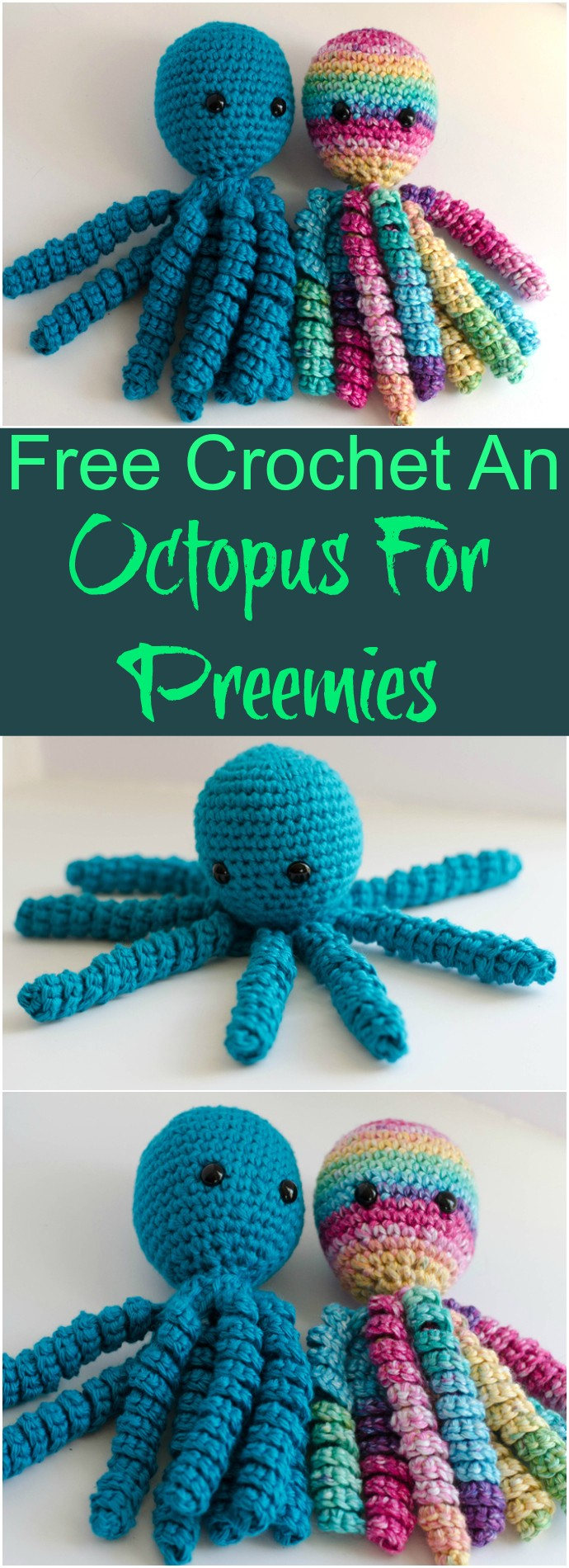 Free Crochet An Octopus For Preemies