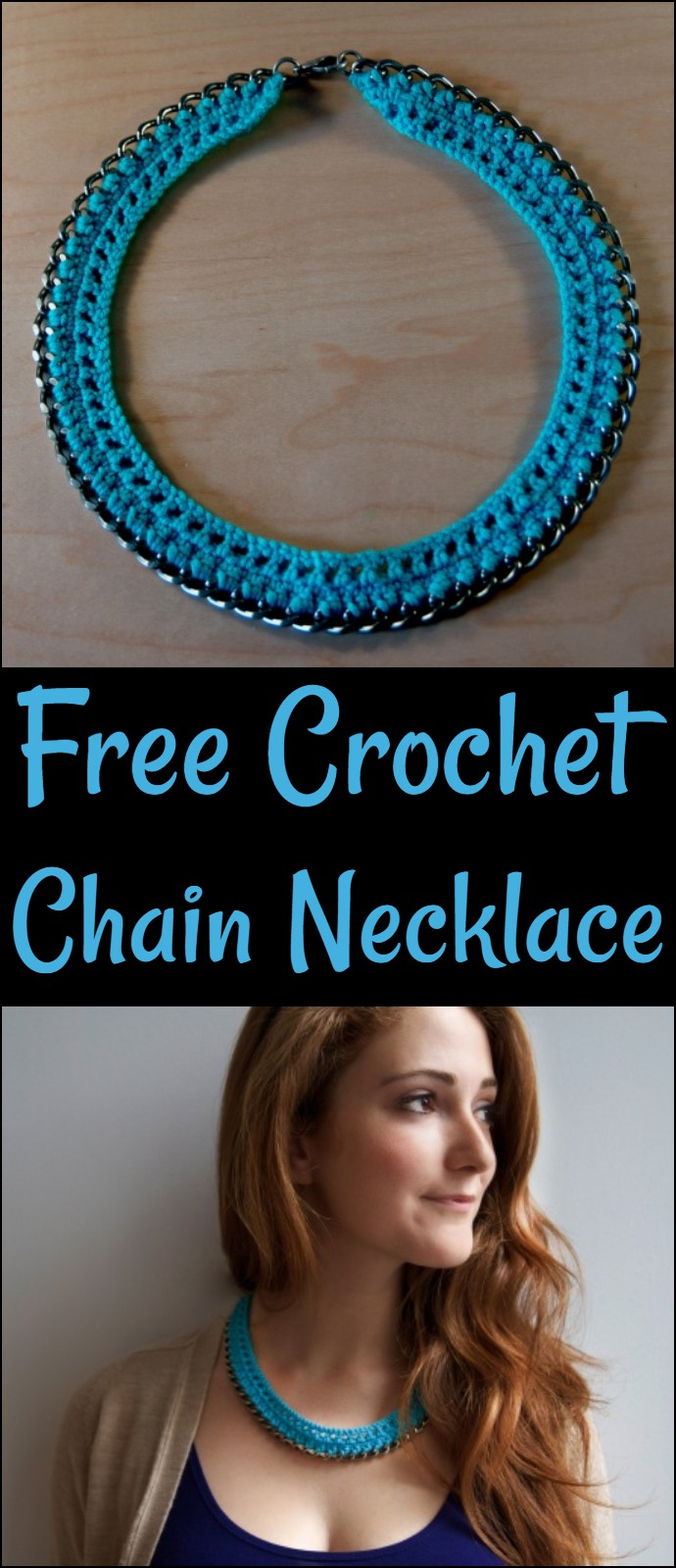 Free Crochet Chain Necklace