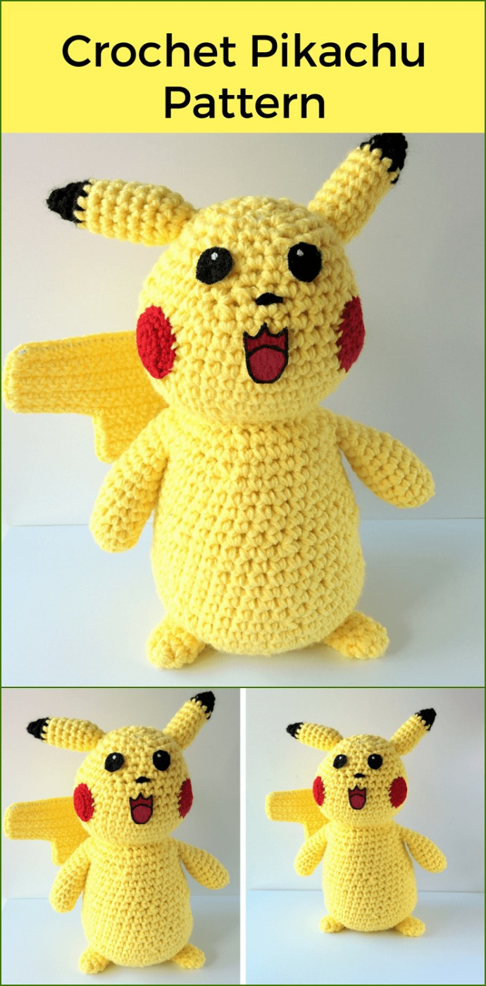Free Crochet Pokemon Pattern