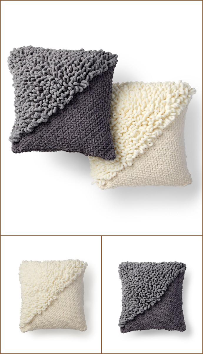 Free Intermediate Crochet Pillow Pattern