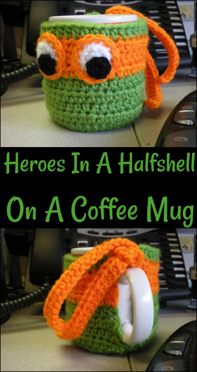 Heroes In A Halfshell On A Coffee Mug