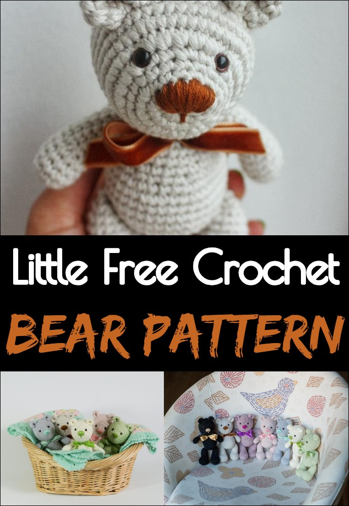 Little Free Crochet Bear Pattern