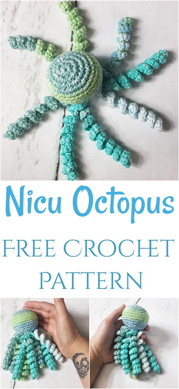 Nicu Octopus Free Crochet Pattern