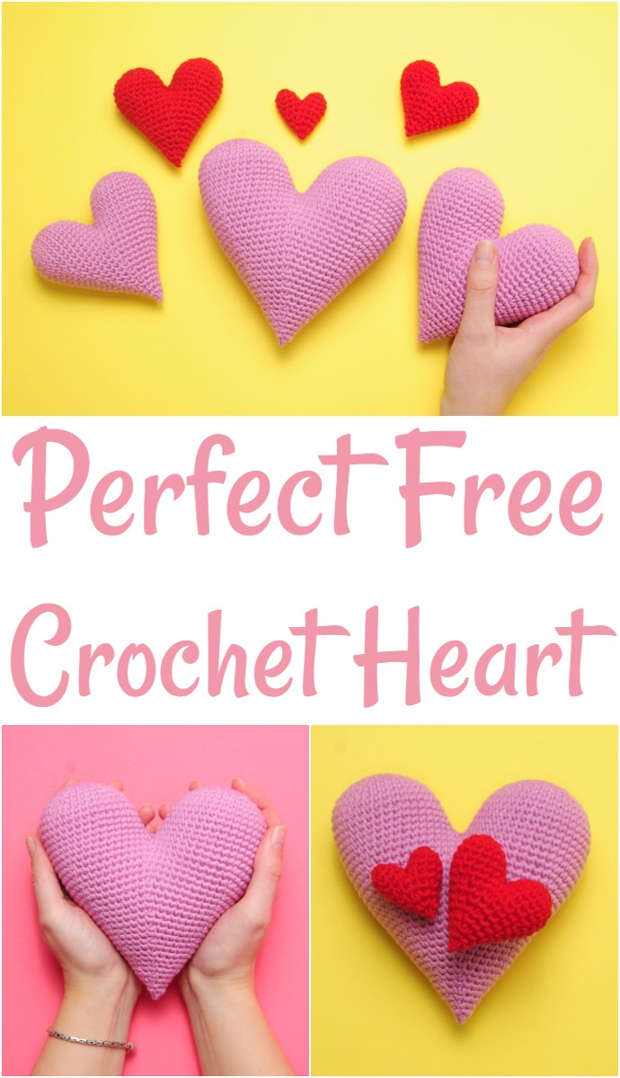 Perfect Free Crochet Heart