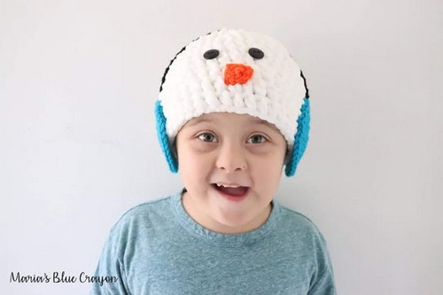 Crochet Earmuffs Hat Pattern