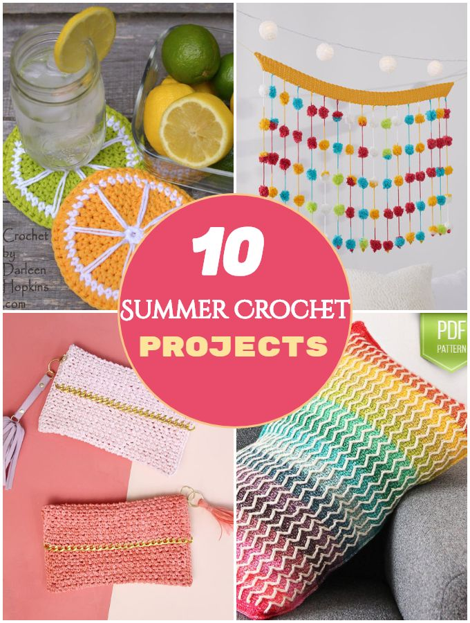 Summer Crochet Projects