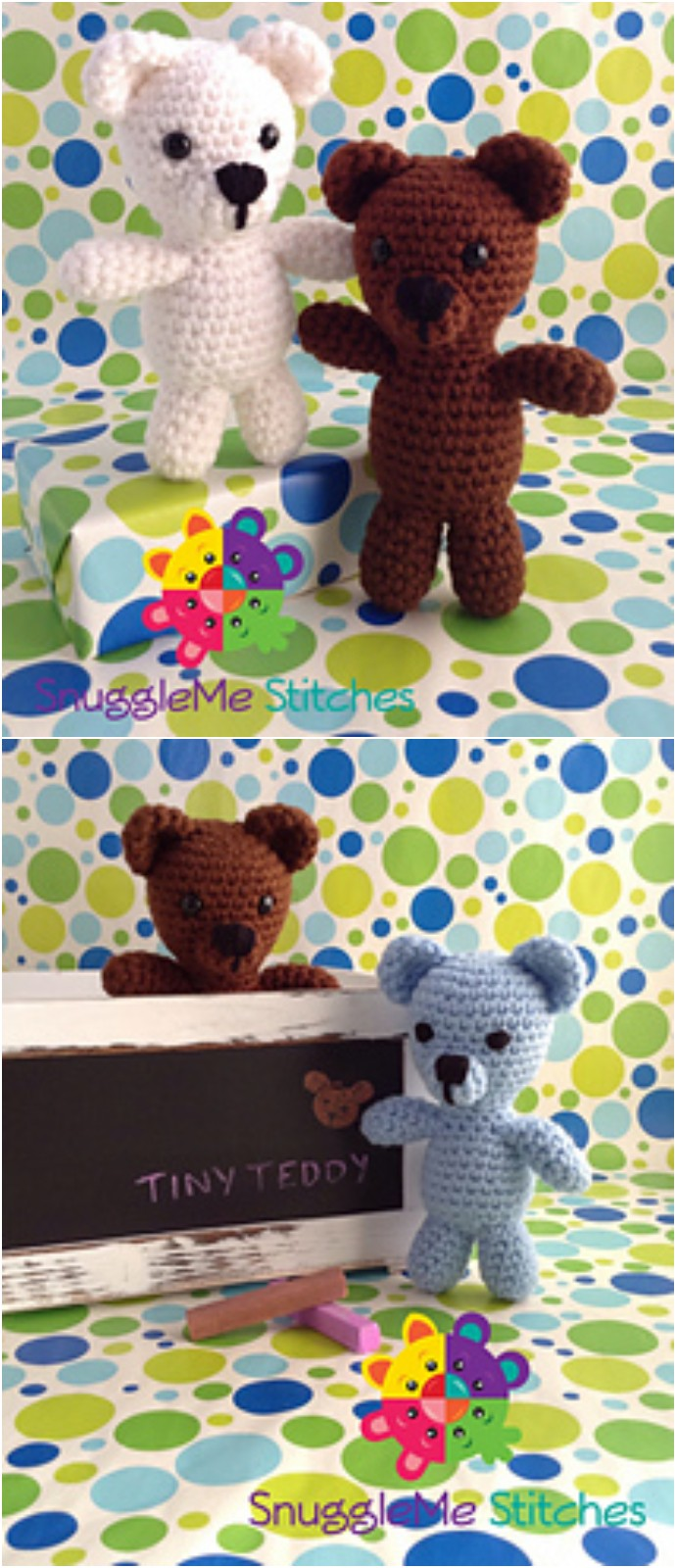 Tiny Teddy Bear Free Crochet Pattern