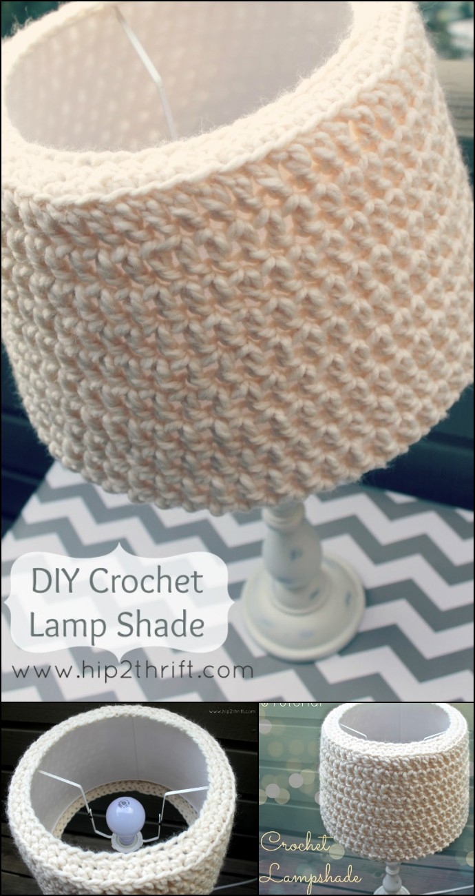 Free Crochet Lamp Shade Pattern