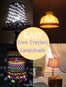 Free Crochet Lampshade