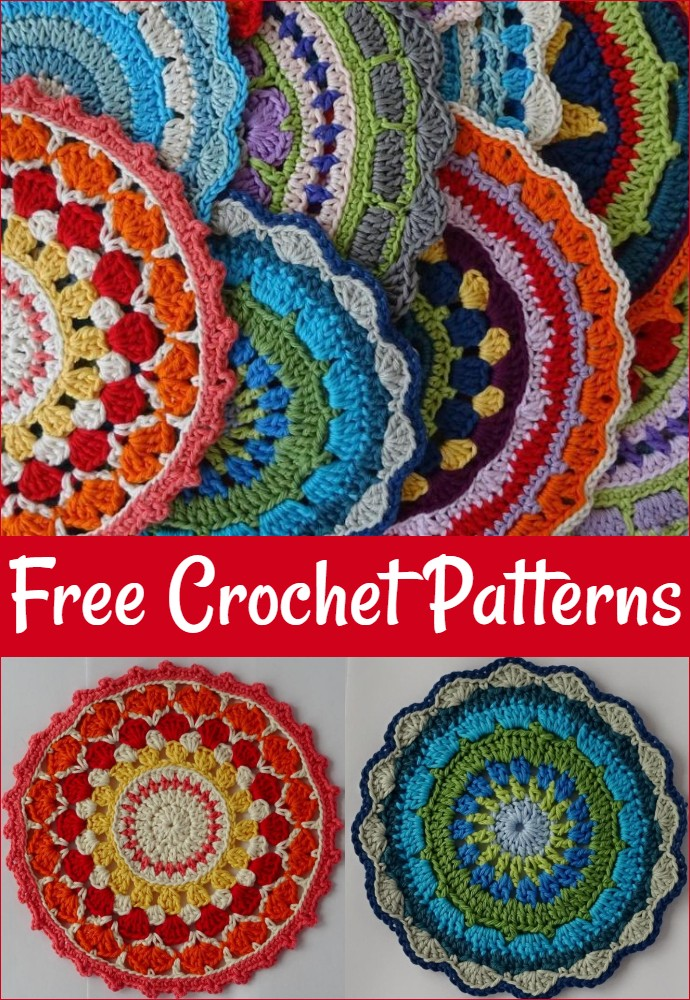 Free Crochet Magical Mandalas