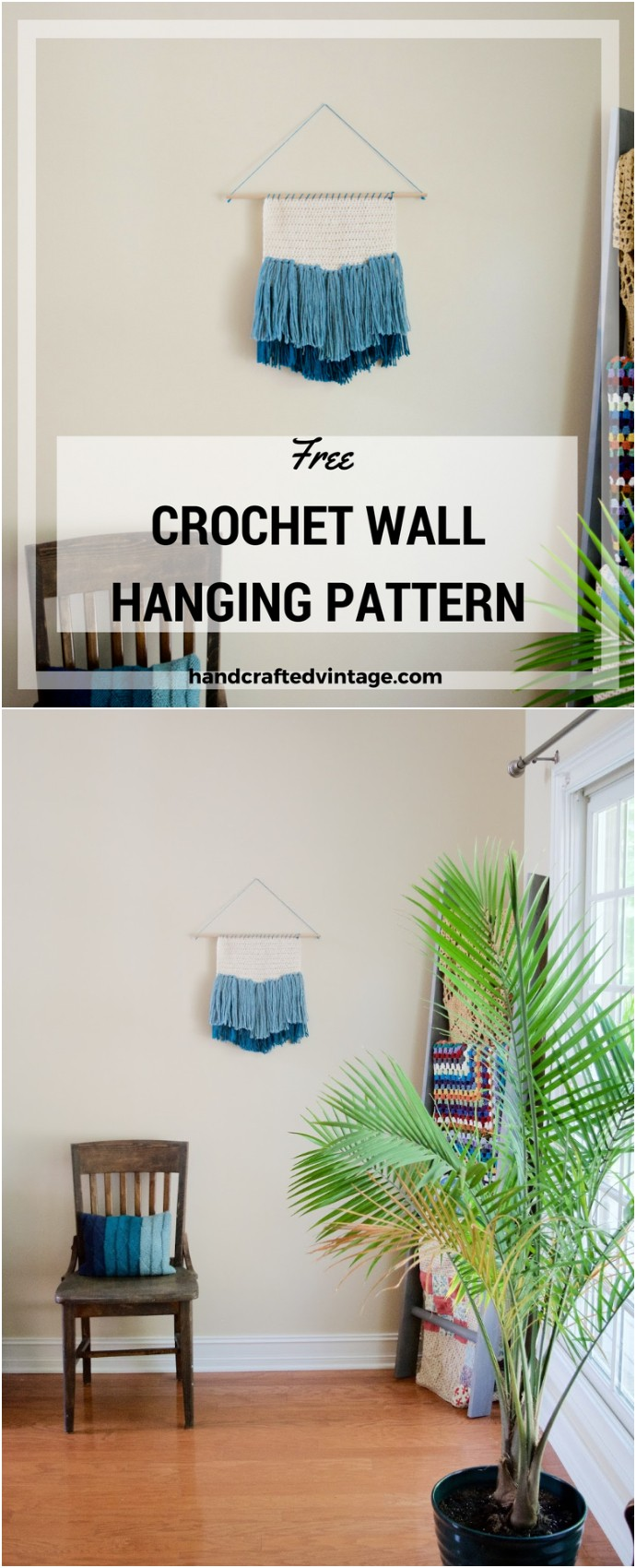Free Crochet Wall Hanging