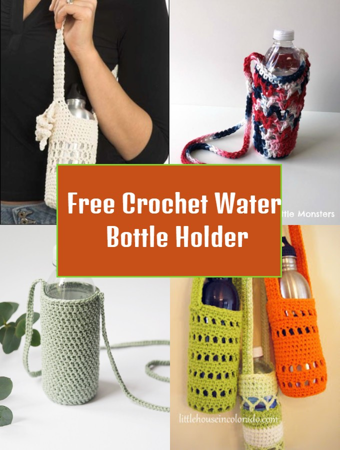 Free Crochet Water Bottle Holder
