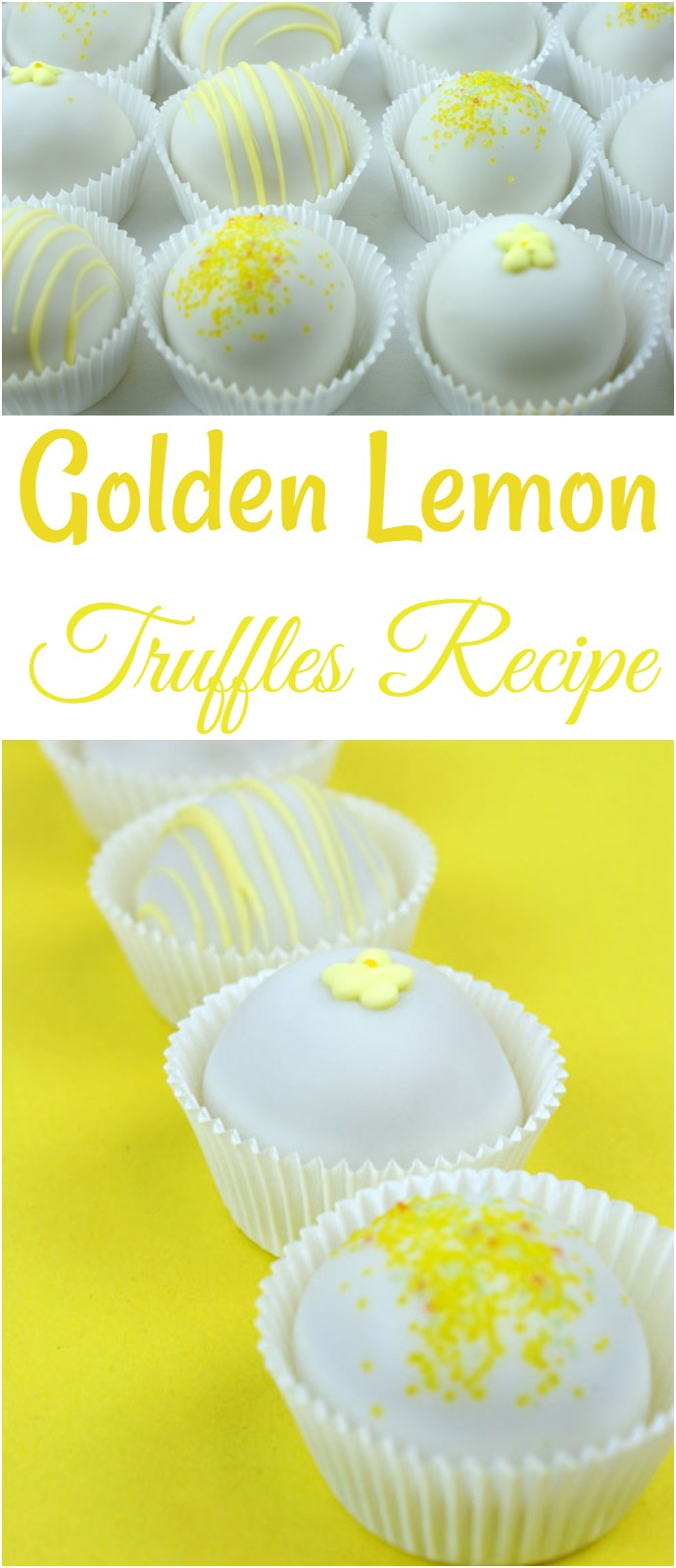 Golden Lemon Truffles Recipe