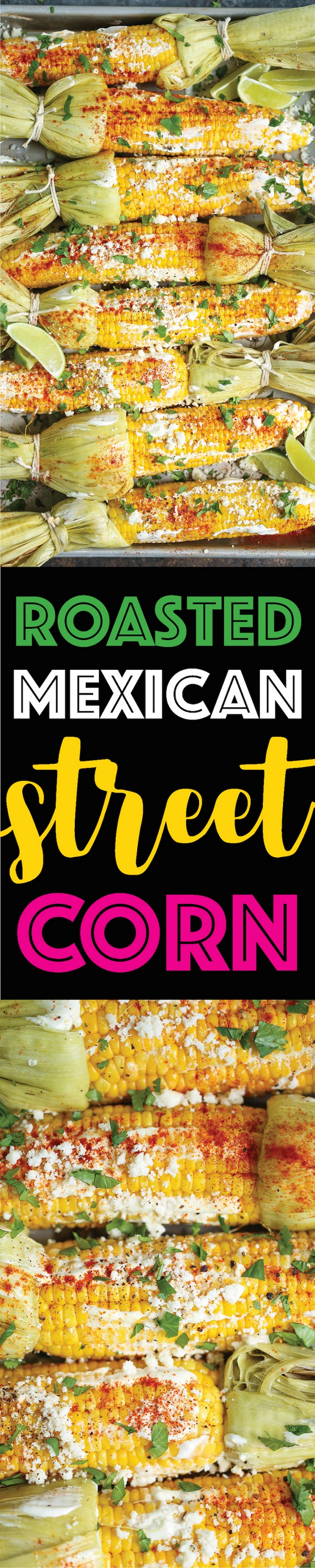 Roasted Mexican Street Corn