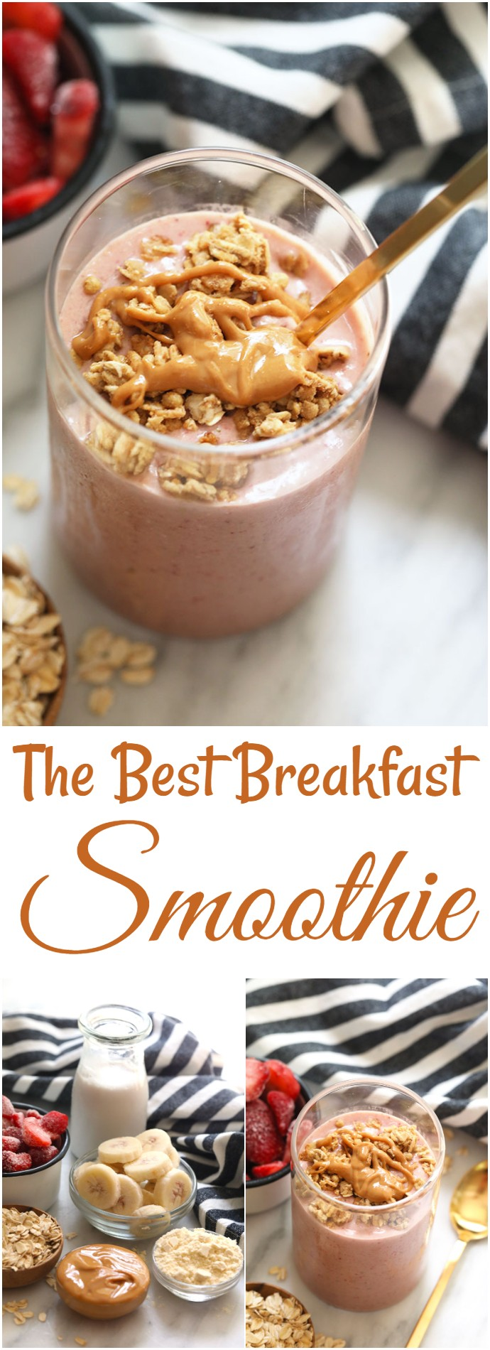 The Best Breakfast Smoothie