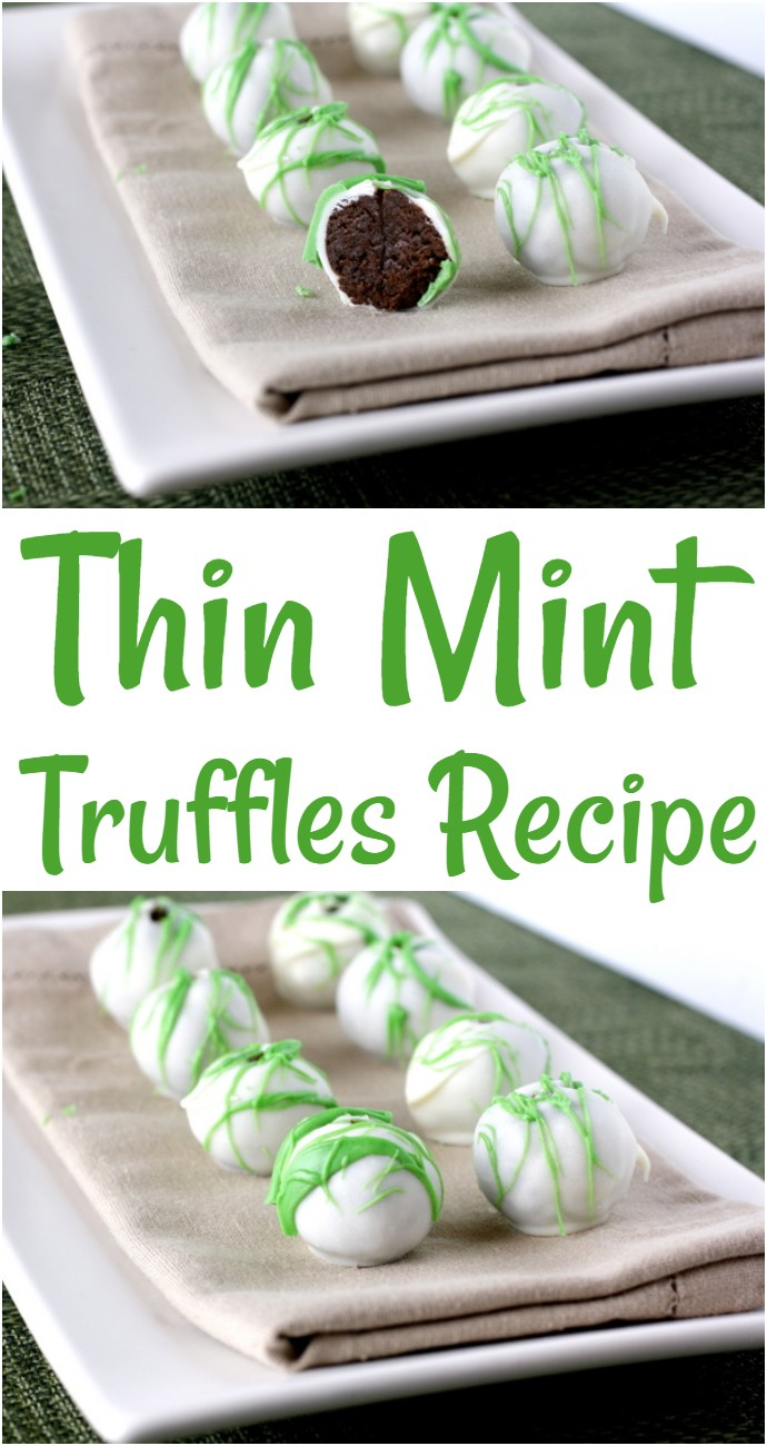 Thin Mint Truffles Recipe