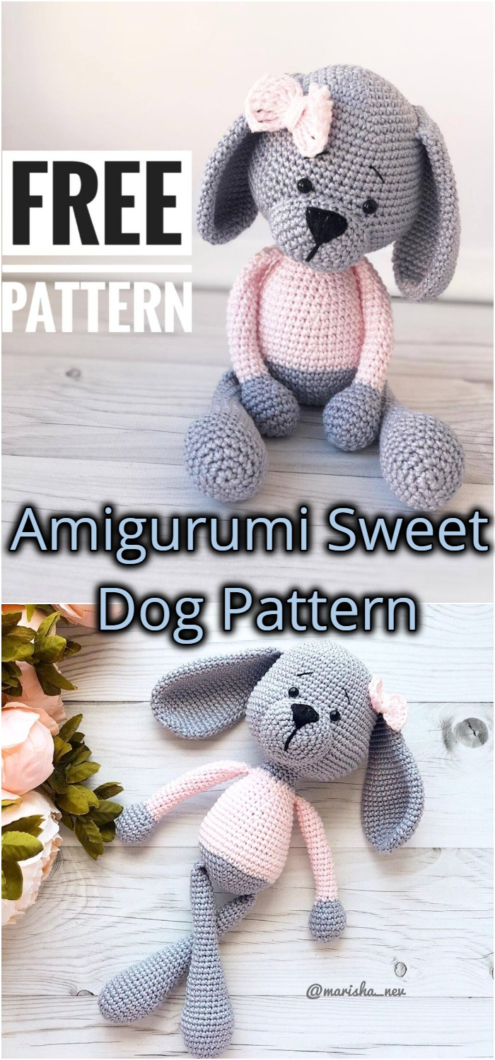 Amigurumi Sweet Dog Pattern