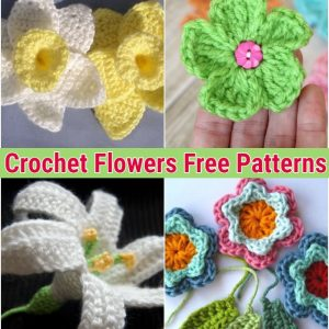 Crochet Flowers Free Crochet Patterns