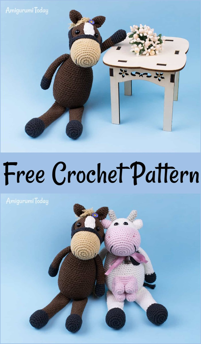 Farm Horse Crochet Pattern