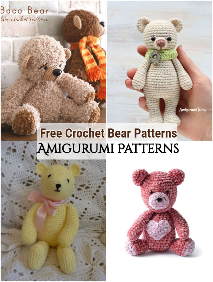 Free Crochet Bear Patterns