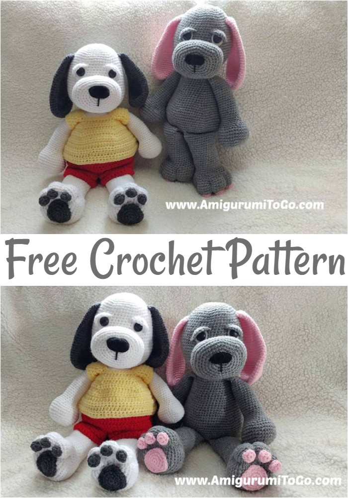 Free Crochet Cuddle Me Puppy