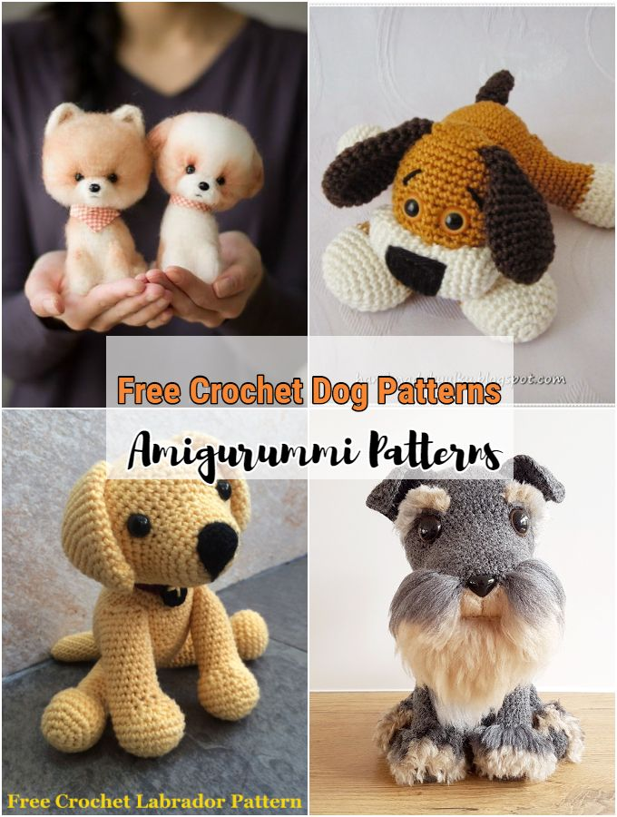 Free Crochet Dog Patterns
